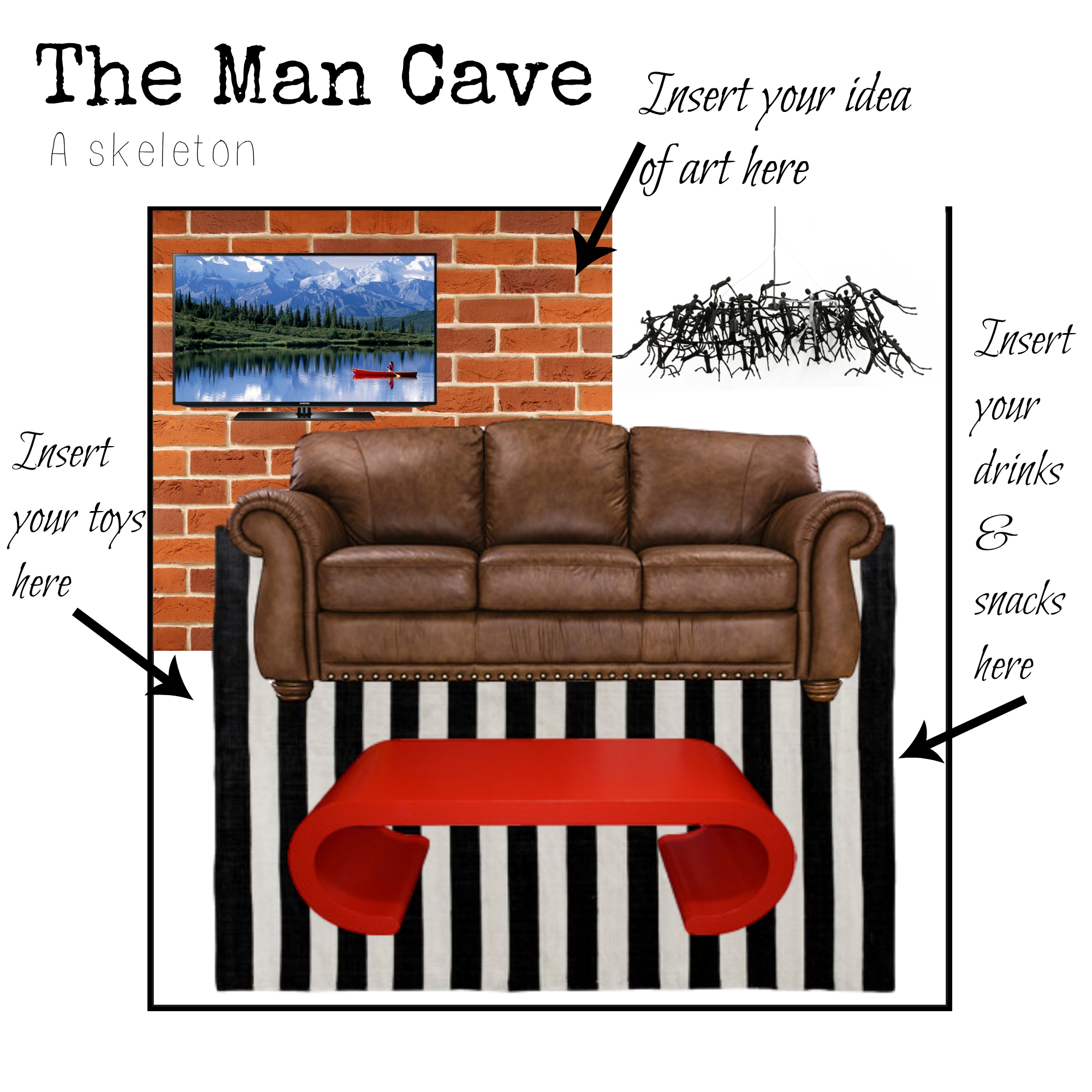 The man cave - what you need to get started