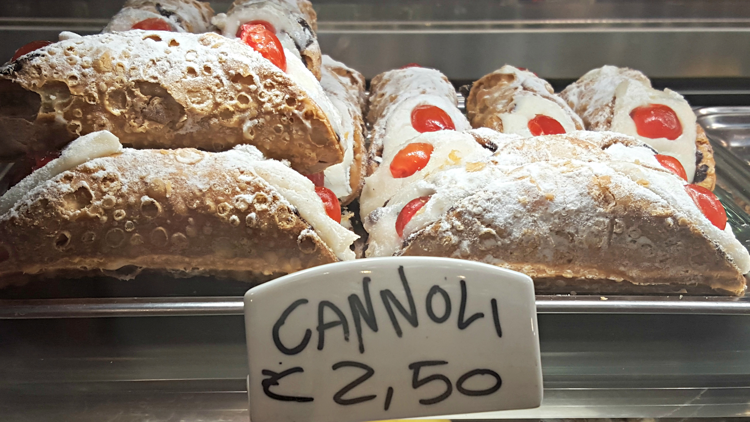 One of the richest, sweetest treats in Italy - Cannoli