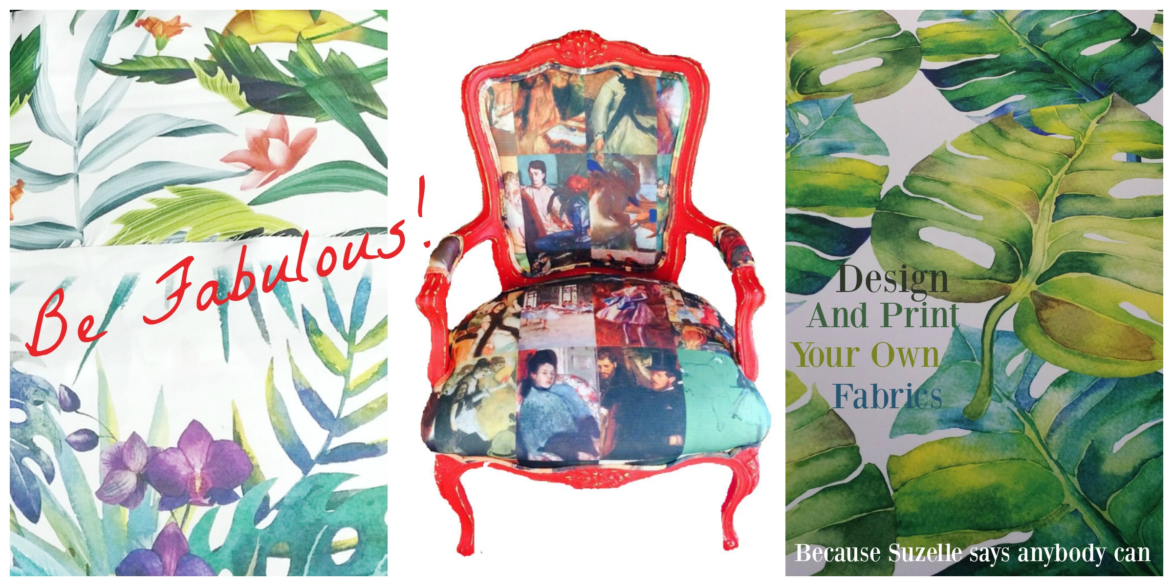 Be fabulous and design and print your own fabrics