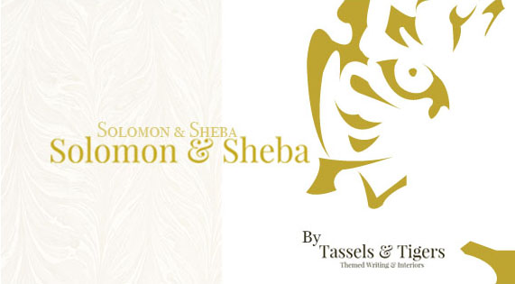 Solomon & Sheba curated decor range scatter cushions by Tassels & Tigers Interiors