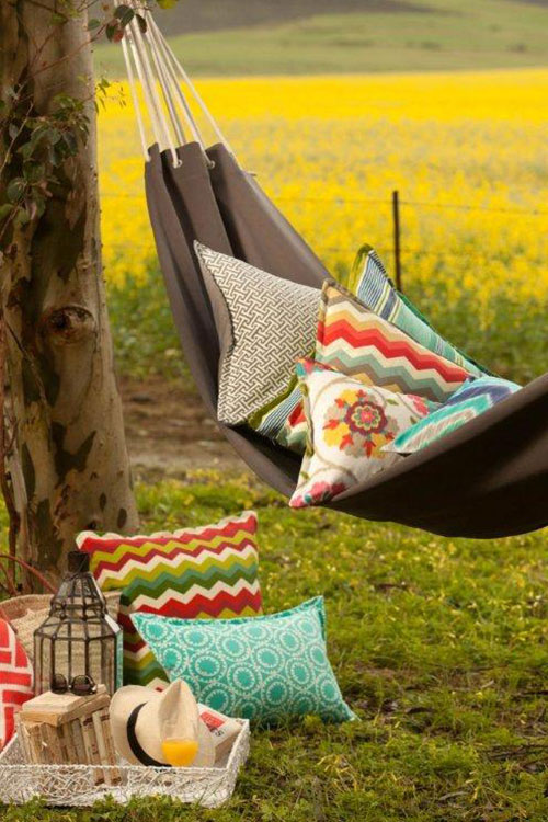 Outdoor Fabrics Hertex, Endless Summer, Tassels & Tigers Interiors