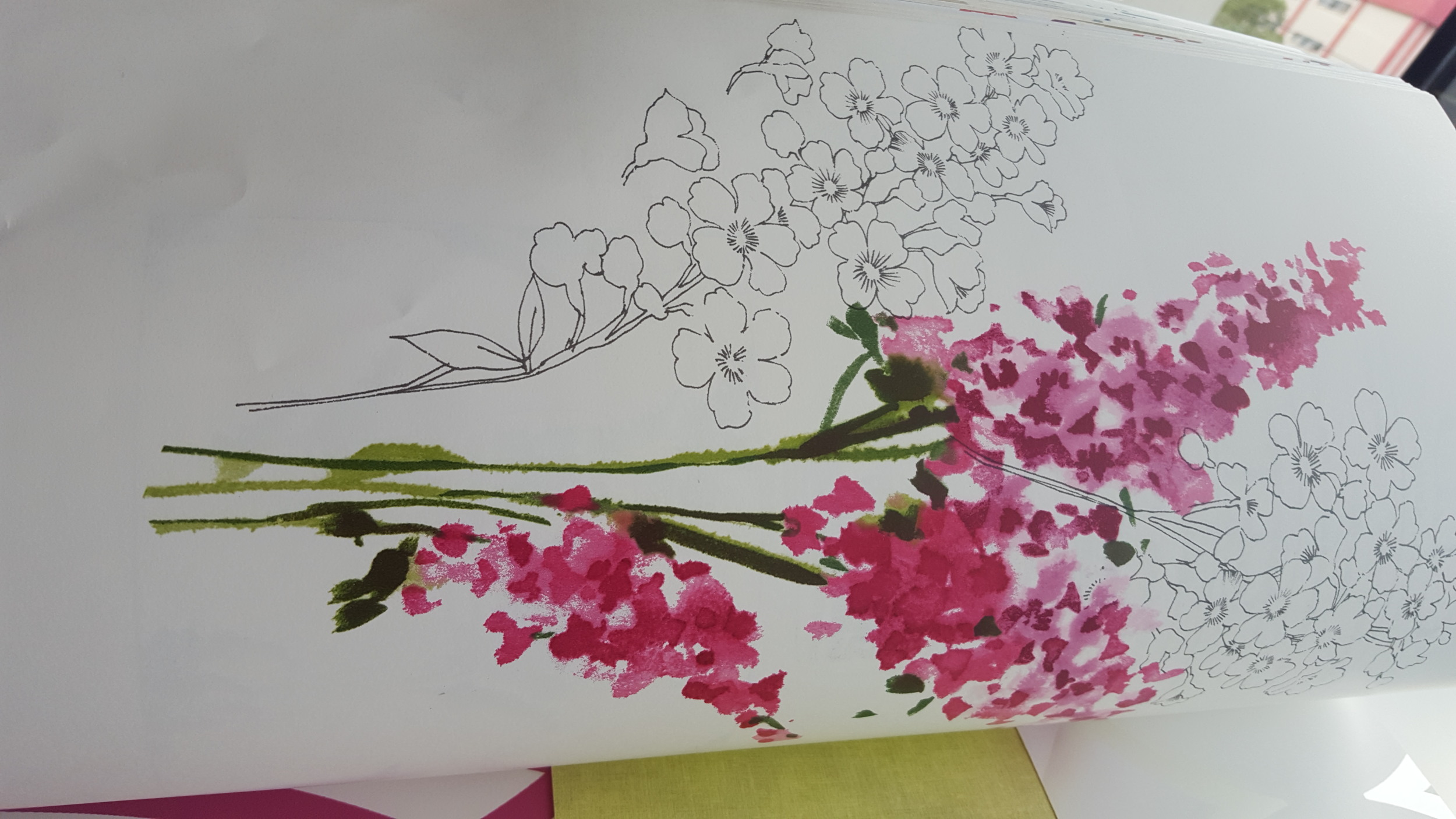 Watercolour and pencil floral wallpaper.png