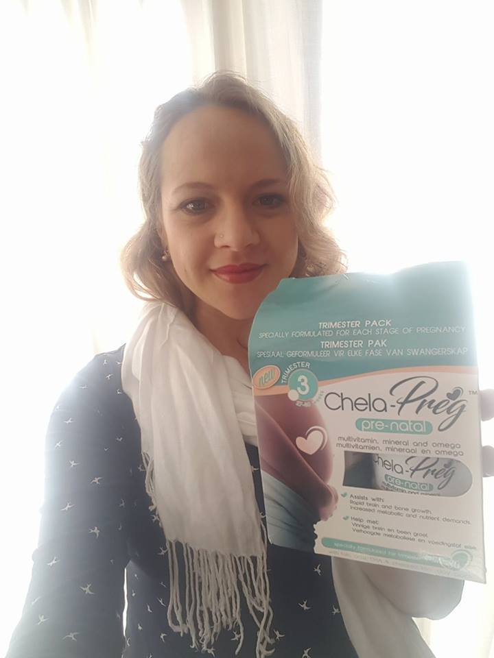 I got to review the latest third trimester prenatal vitamin in the Chela-Preg range. Here's what my gynie had to say about it.