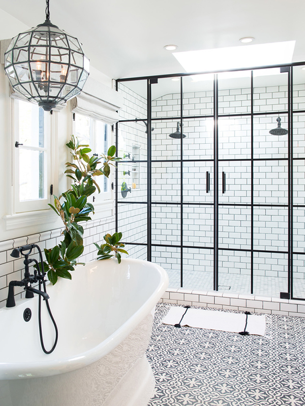 Don't settle for dated, purely practical overhead lighting in your bathroom.