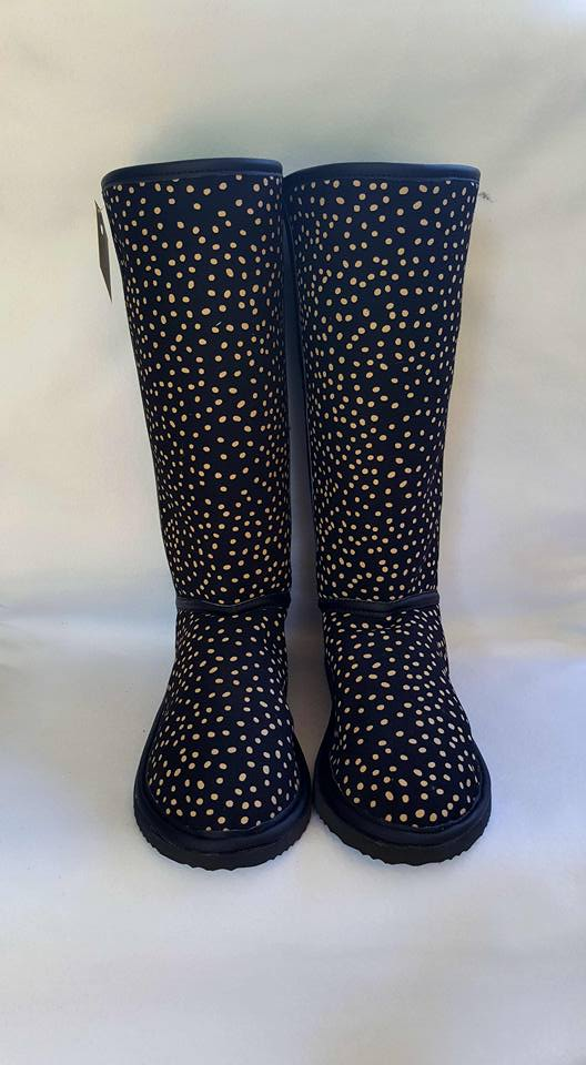 Gold and Black Dots Boots_Maria Paola.jpg