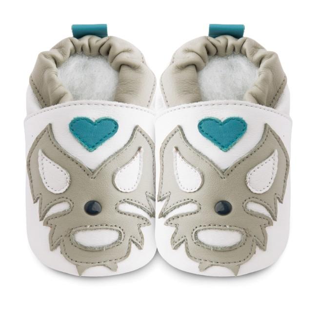 Buy online SA Del Santons Shooshoos leather baby shoes