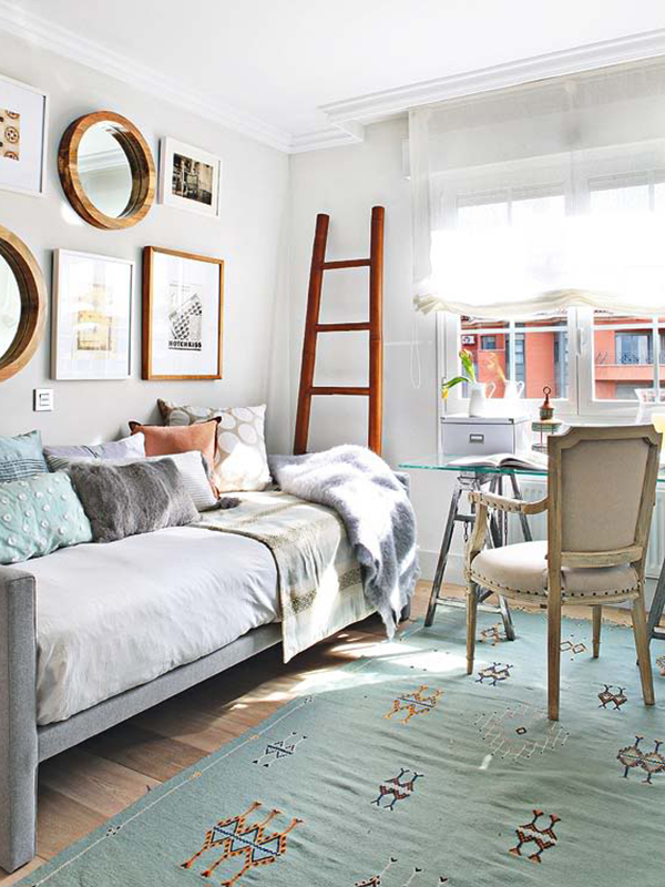Scatters, artwork, throws, rugs and other soft furnishings can go a long way in dual purpose rooms, advises Tassels & Tigers Interior Design & Decor.