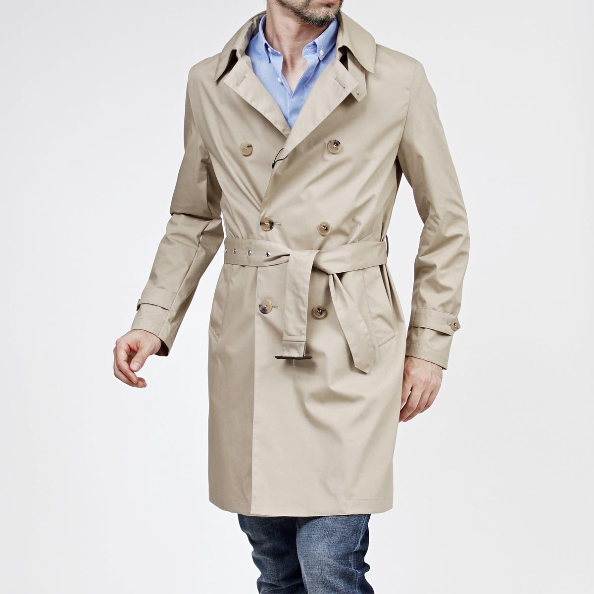 Macintosh - This coat is named after Charles Macintosh from Scotland. It doesn't have any tartan, surprisingly.