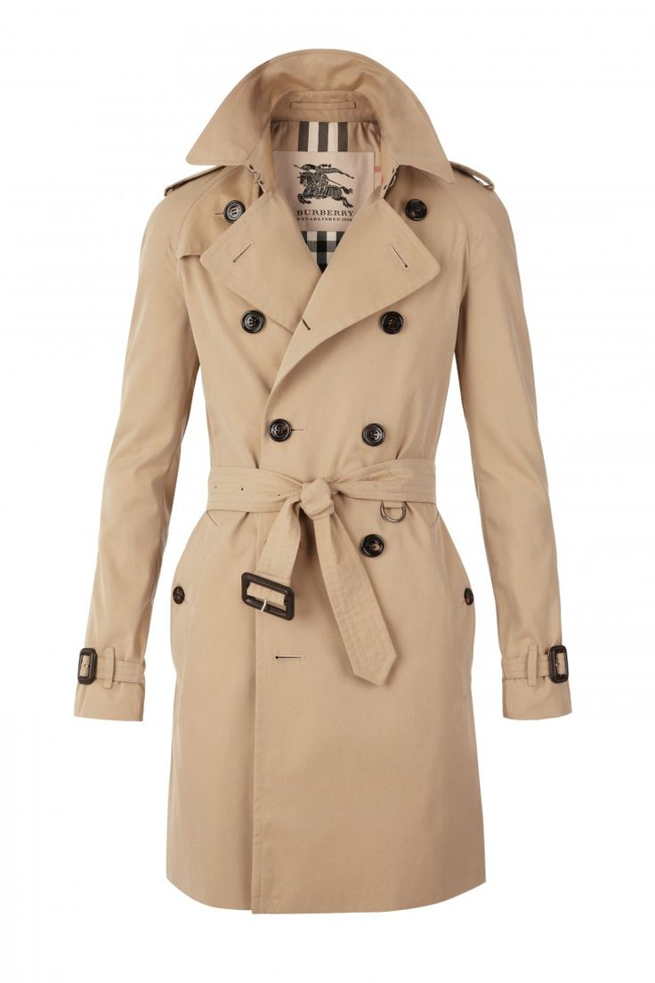 Burberry Trench - by Thomas Burberry of England, is basically the same thing, and well known for its lovely iconic tartan inner - a design both my husband and I are fans of.