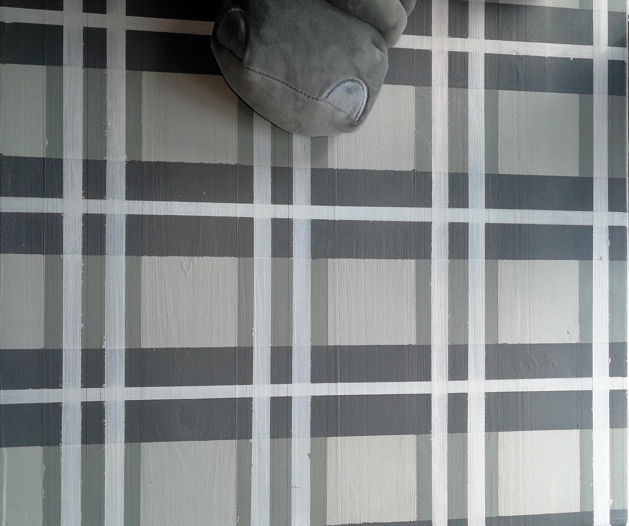 Tartan painted changetable top by Tassels & Tigers Interiors.jpg