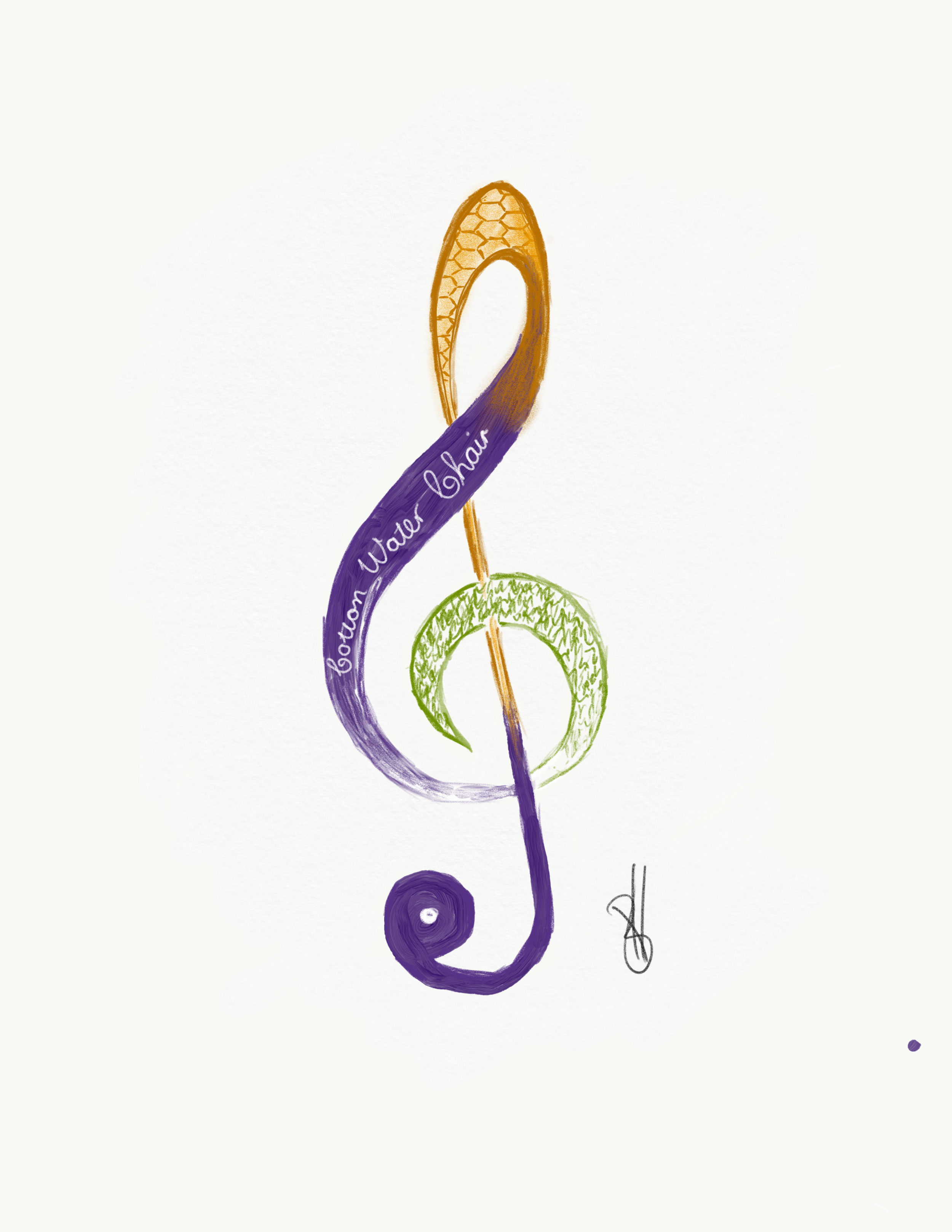 Tassels & Tigers Rhythm Of Your Life Design Key