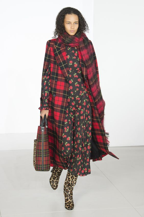 Michael Kors Spring 2018 Collection in Plaid