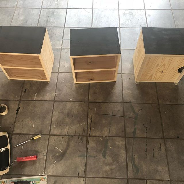 DIYing. Just one of the many aspects of my job I love. We are busy getting a box of goodies together for a very special and adventurous young man. Keep watching this space. #decorinabox #diy #interiordesign #decorator #joburg #kidsroom #kidsroomdecor