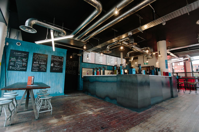 Bar Area, Shuffledog Leeds,