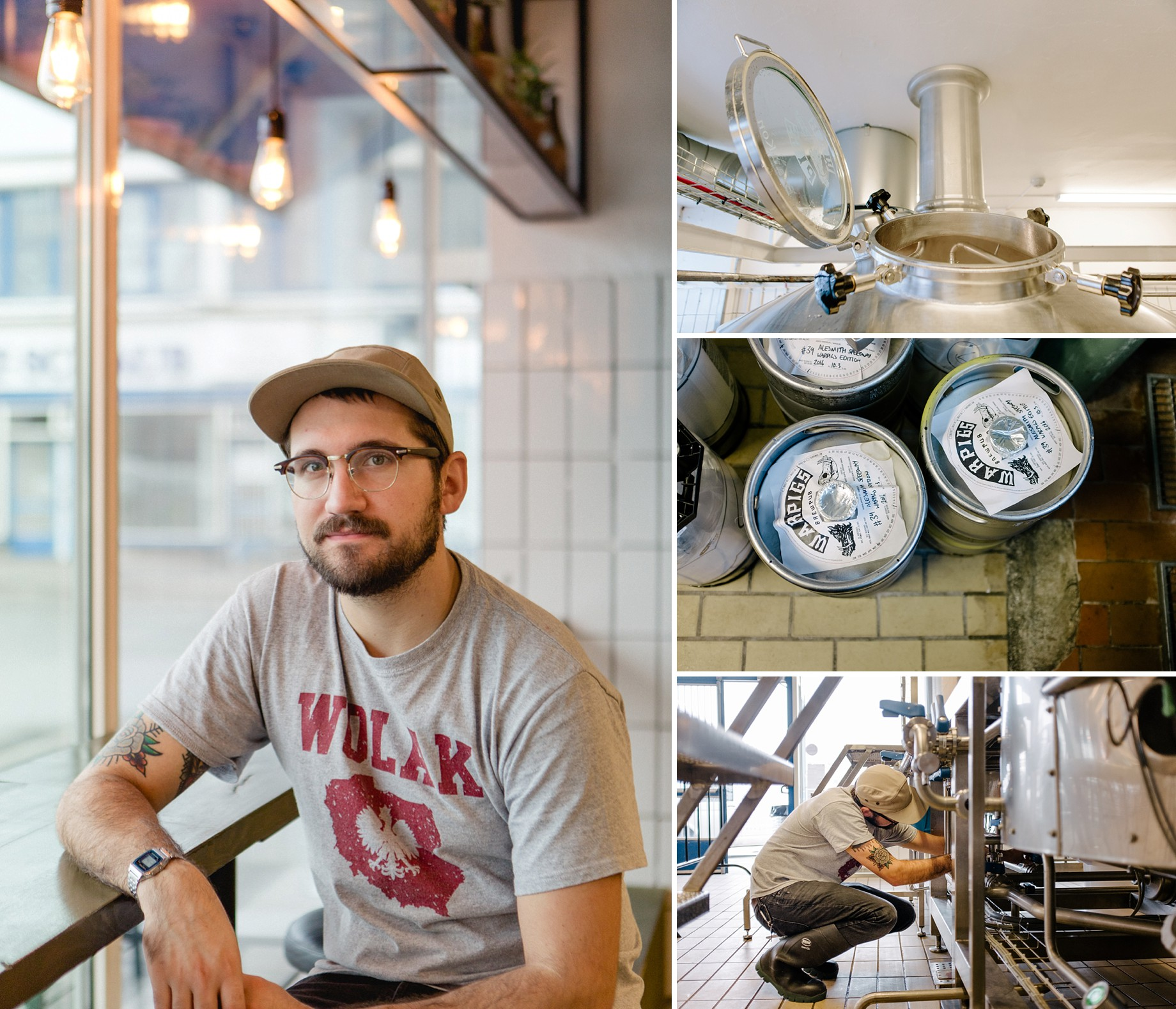 Kyle Wolak, Warpigs head brewer