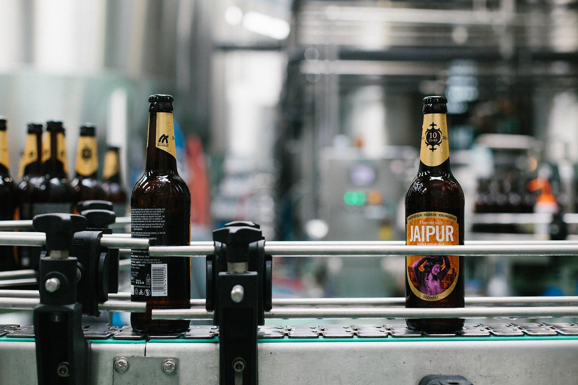 Jaipur Bottling day at Thornbridge Brewery