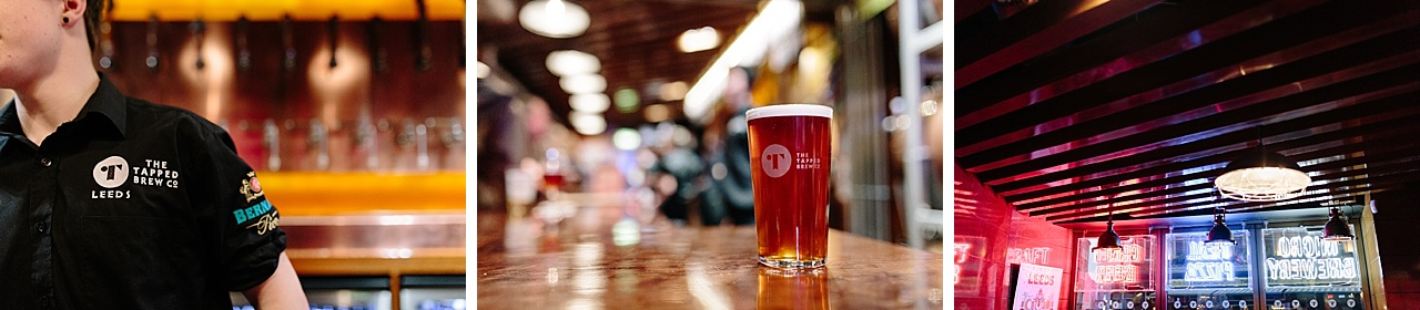 craft beer bar - tapped leeds