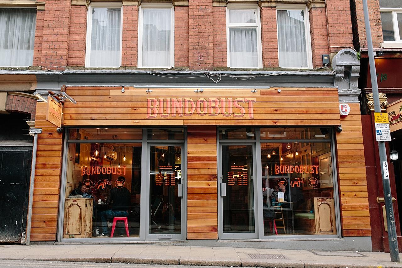 bundobust craft beer bar and indian food leeds