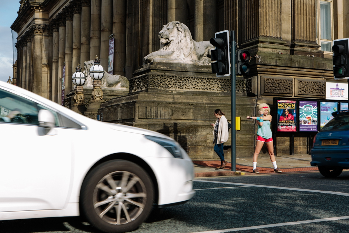 leeds promotional photographer shuffledog launch marketing