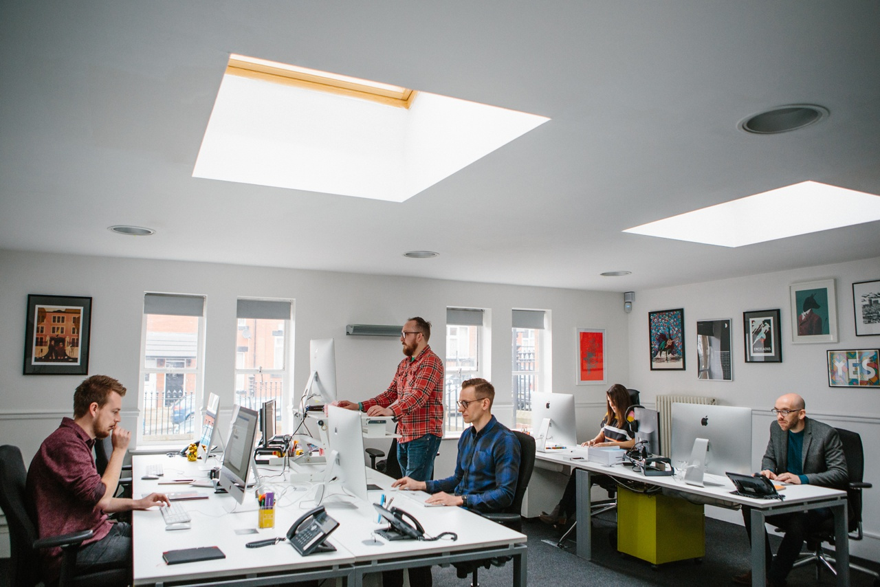 BML Creative design studio Shine building leeds