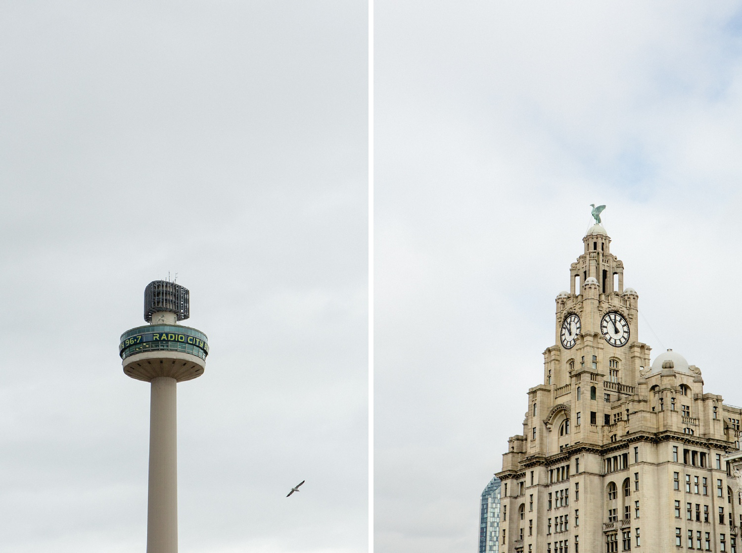 liver building and radio city editorial photographer in liverpool