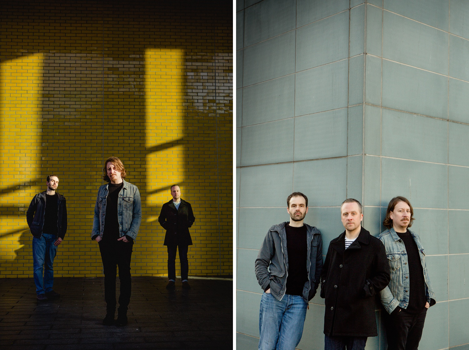 Band portraiture in Manchester of the Longcut