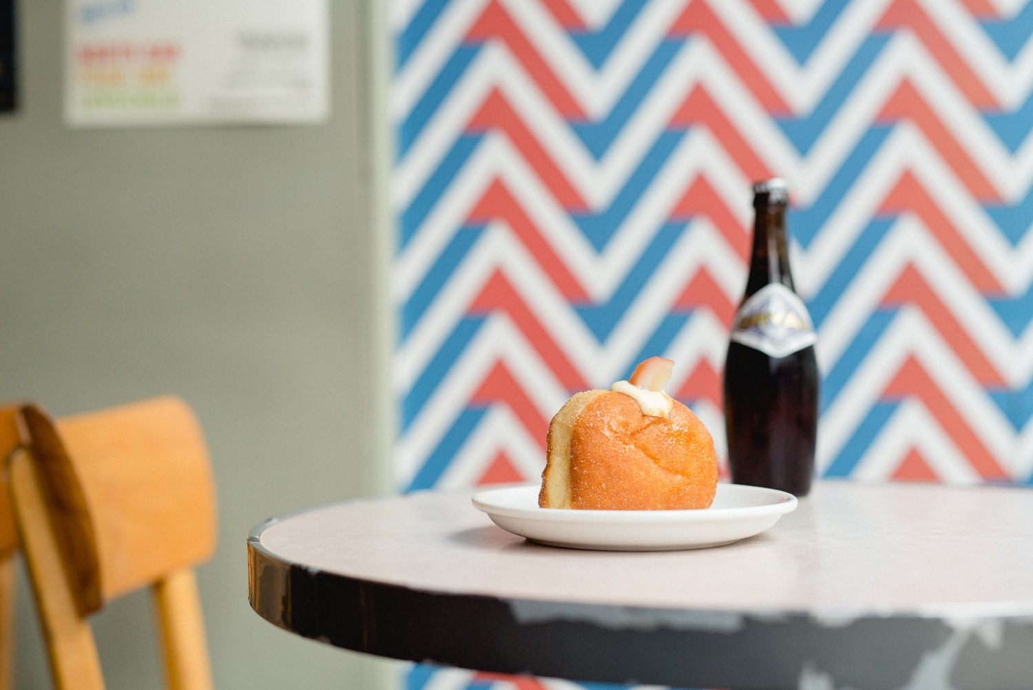 Donut and beer pairing at North Bar Leeds