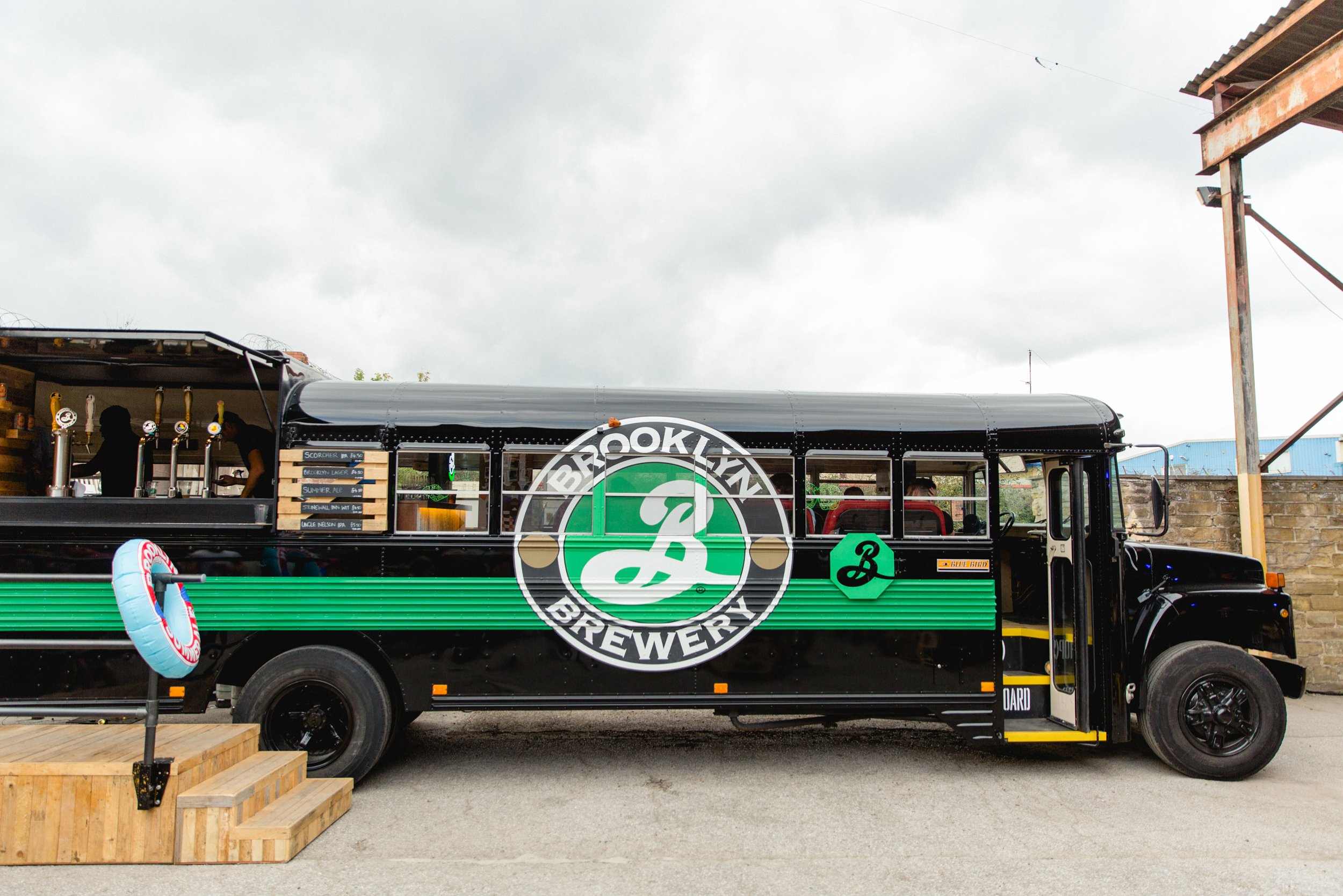 Brooklyn Brewery on tour in leeds at canal mills