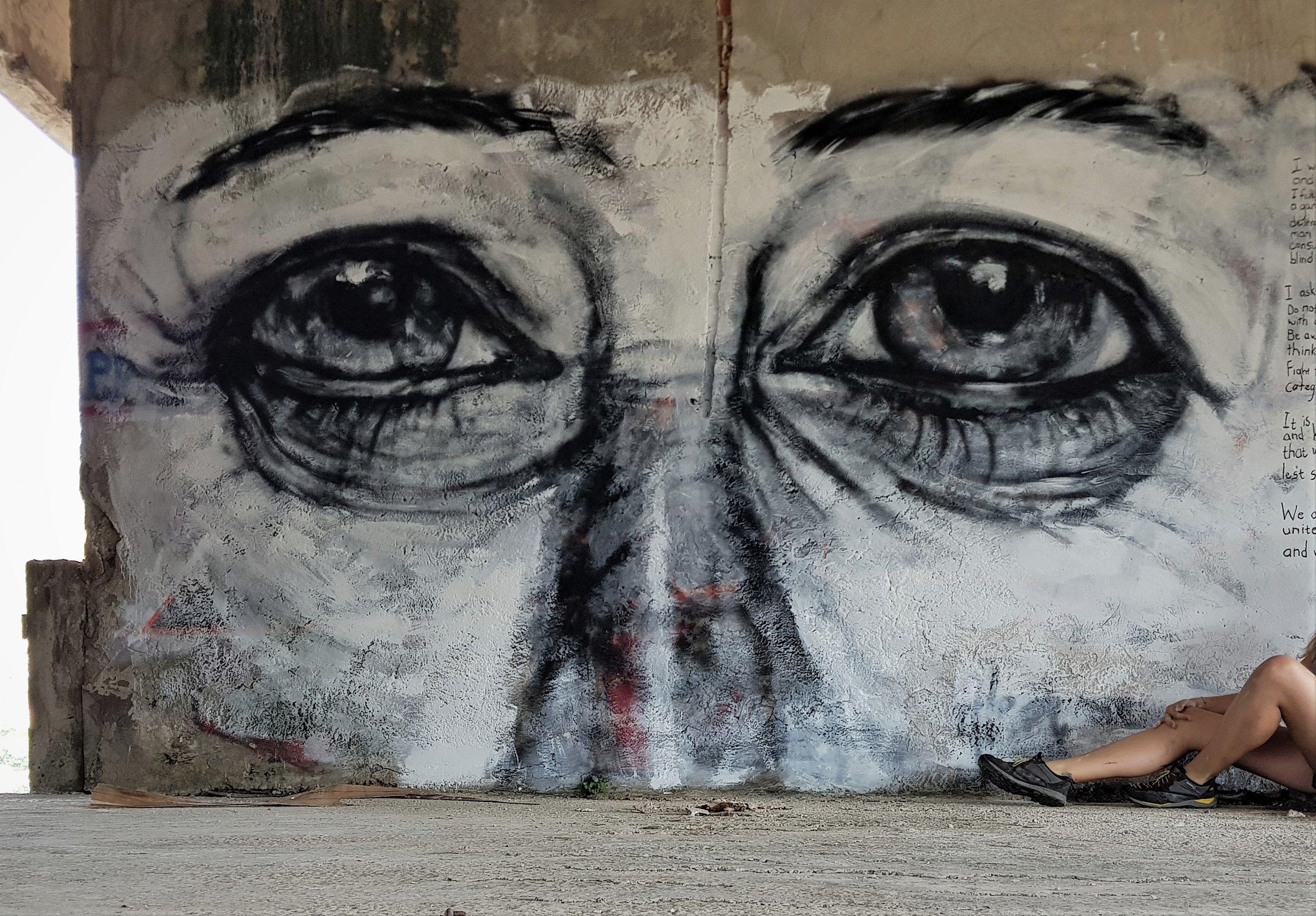 Alexandra Wuzyk Mostar Bosnia Face of War Victim.jpg