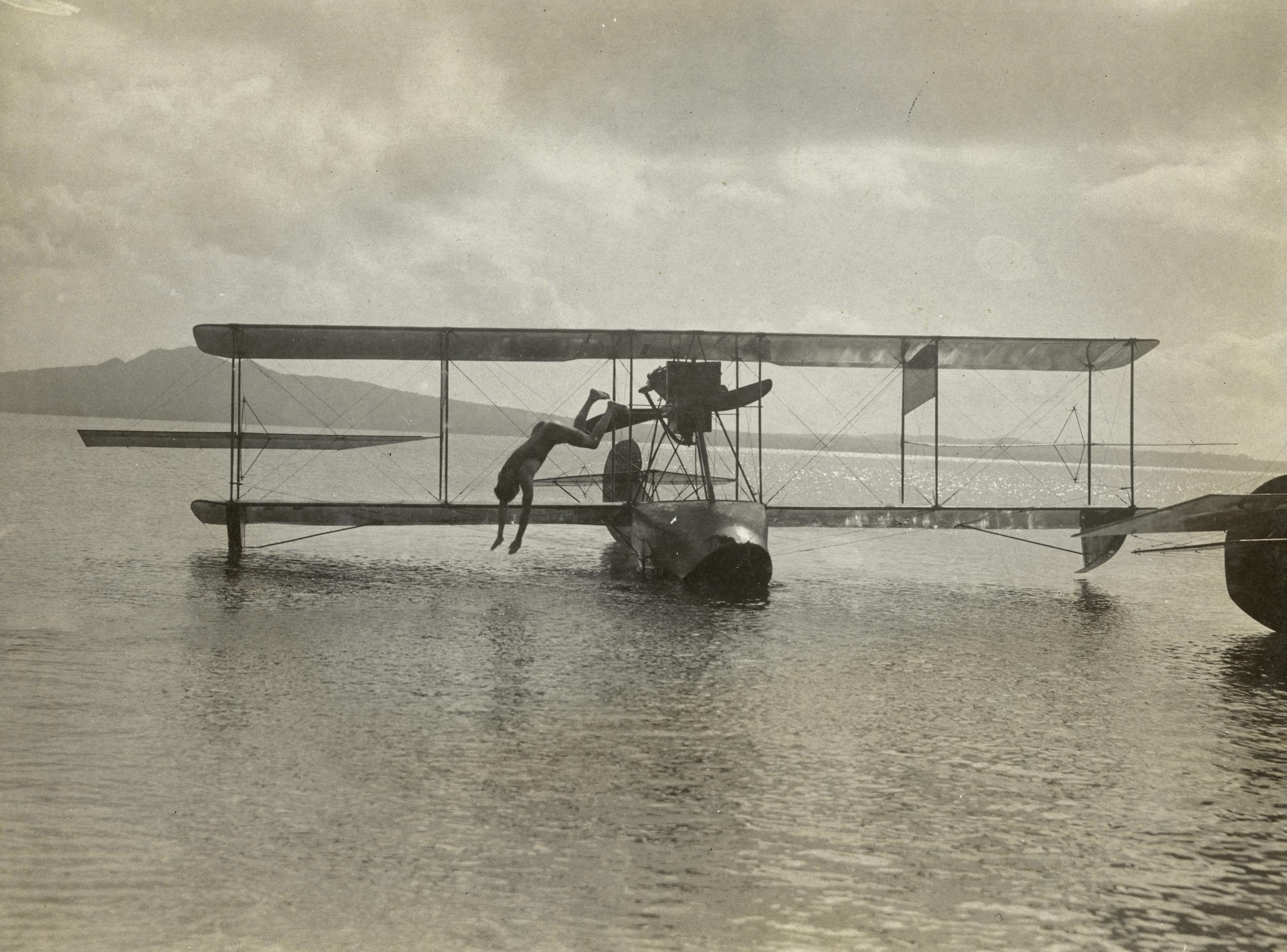 The first aeroplane