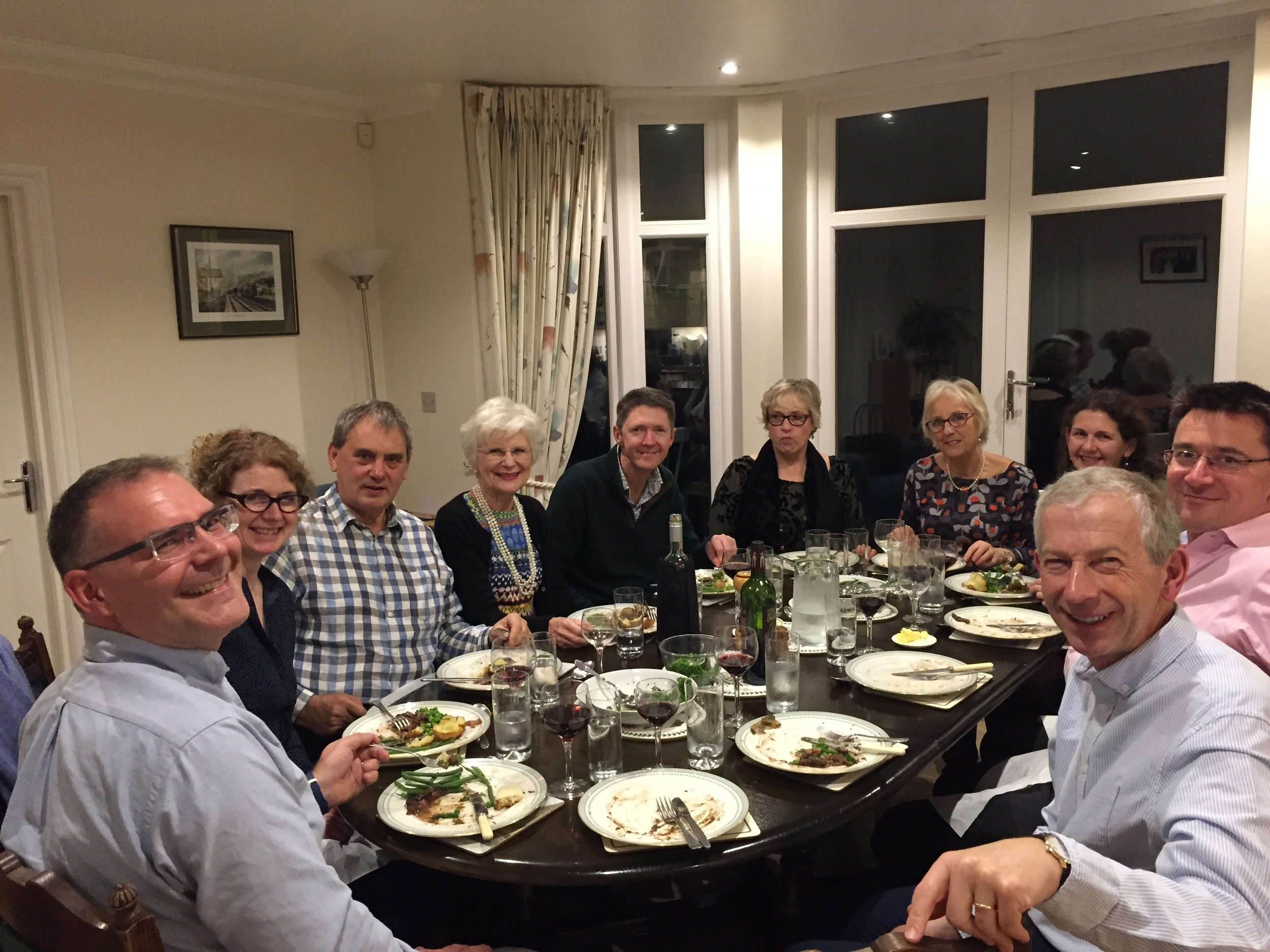 Step had a fantastic evening with some wonderful people from Harpenden. We ate amazing food and chatted about Step's work in the local secondary schools.  Do contact  Claire  if you are considering supporting or volunteering with us and we will arrange for you to join us for a dinner in your area.