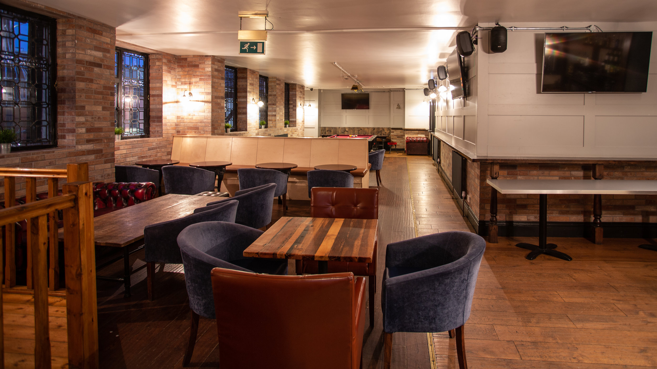 want to hire our tudor lounge? - The Tudor Lounge is situated upstairs at Parkside Tavern and is available for private hire. It contains a 9ft Sam K Steel pool table, as well as it's own bar.