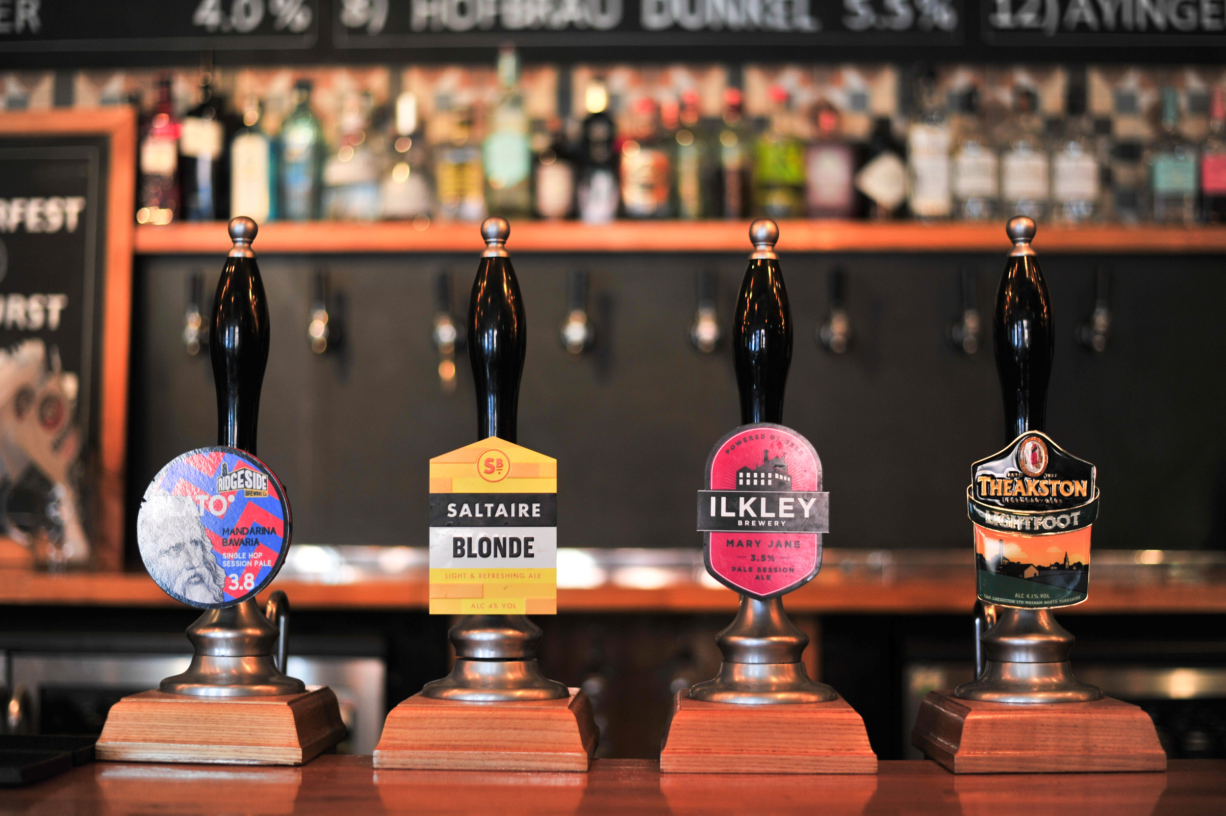 wednesday mid week treat - Any cask ale for only £2.50 - Come down and sample some of the finest Yorkshire and British ales there is to offer.