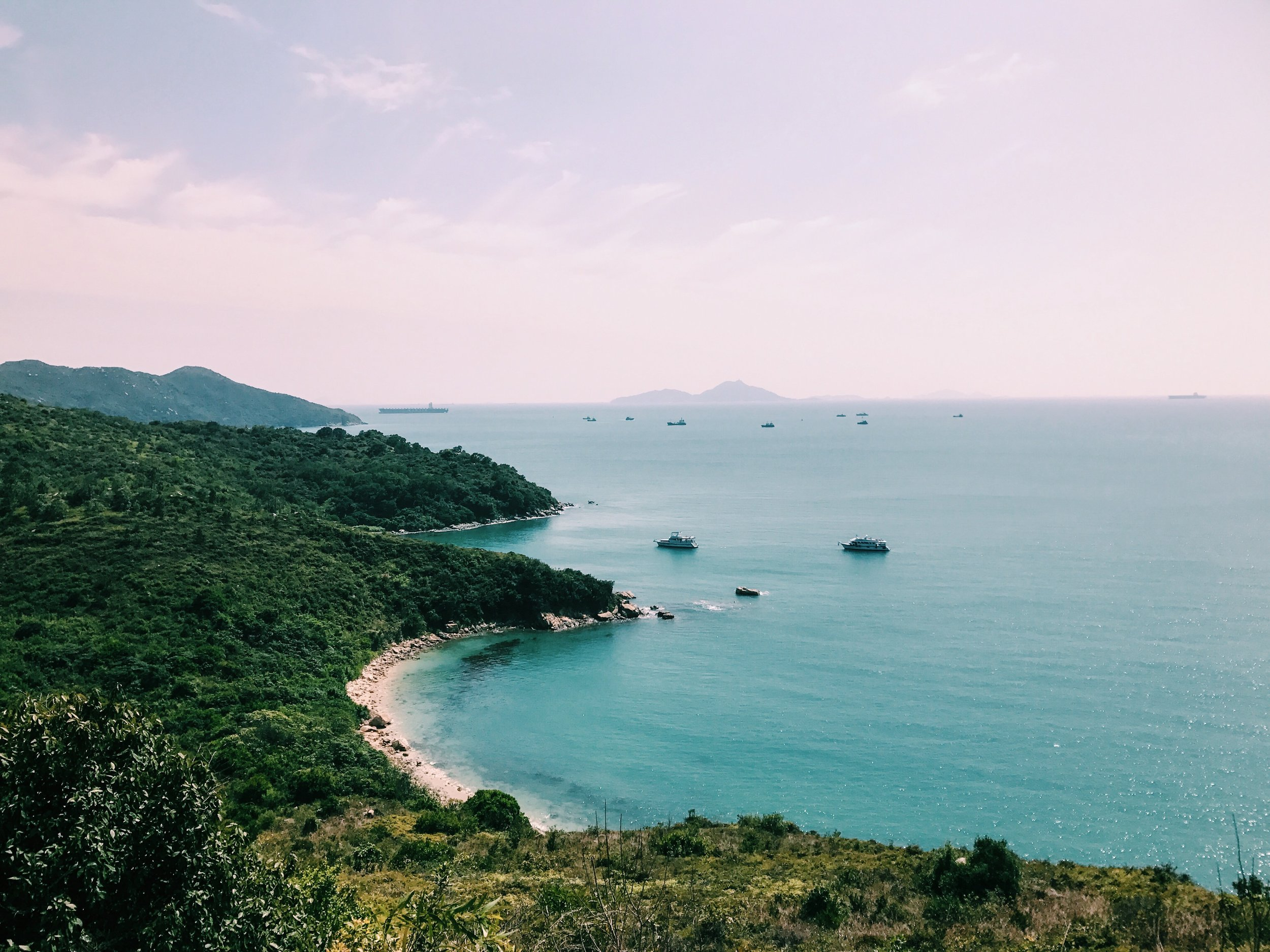 view from the Lamma Island trail