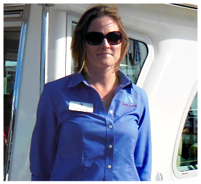 Lindsey braun   national sales manager,   back cove yachts