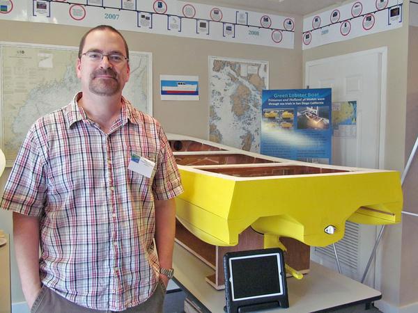 Professor Douglas Read  Maine Maritime Academy