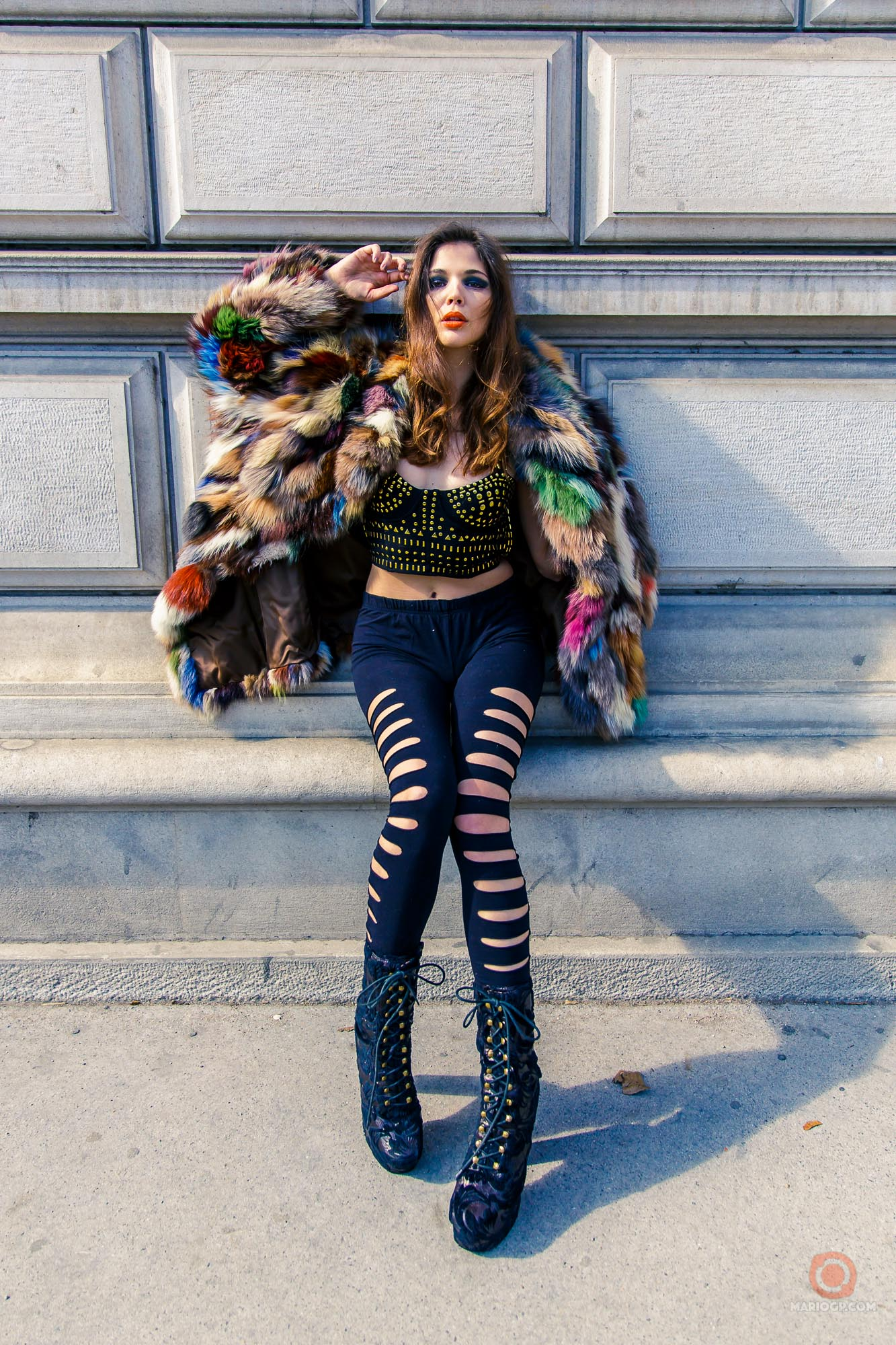 Fur On The Rocks #MarioGuarneros#Fashion