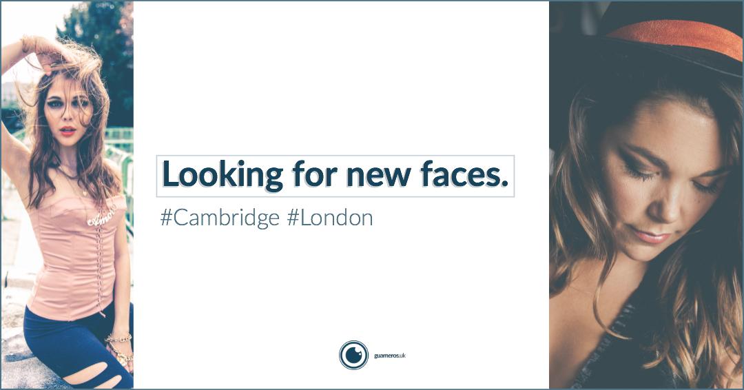 Models Wanted | London & Cambridge.