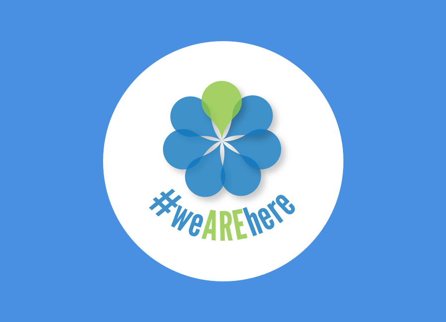 - #weAREhere is an changing collective of women in tech groups who run annual/bi-annual events bringing together our networks through unconferences, talks.