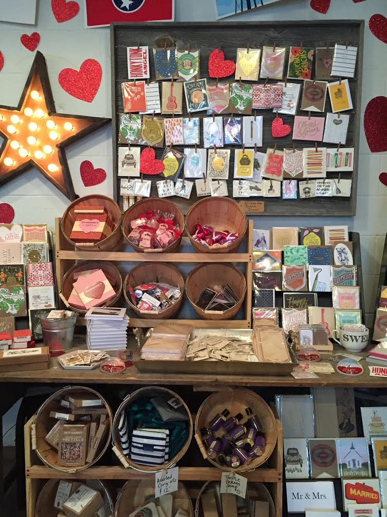 The amazing paper section in White's Mercantile! Check out those Breathless Paper Co. Cards!!