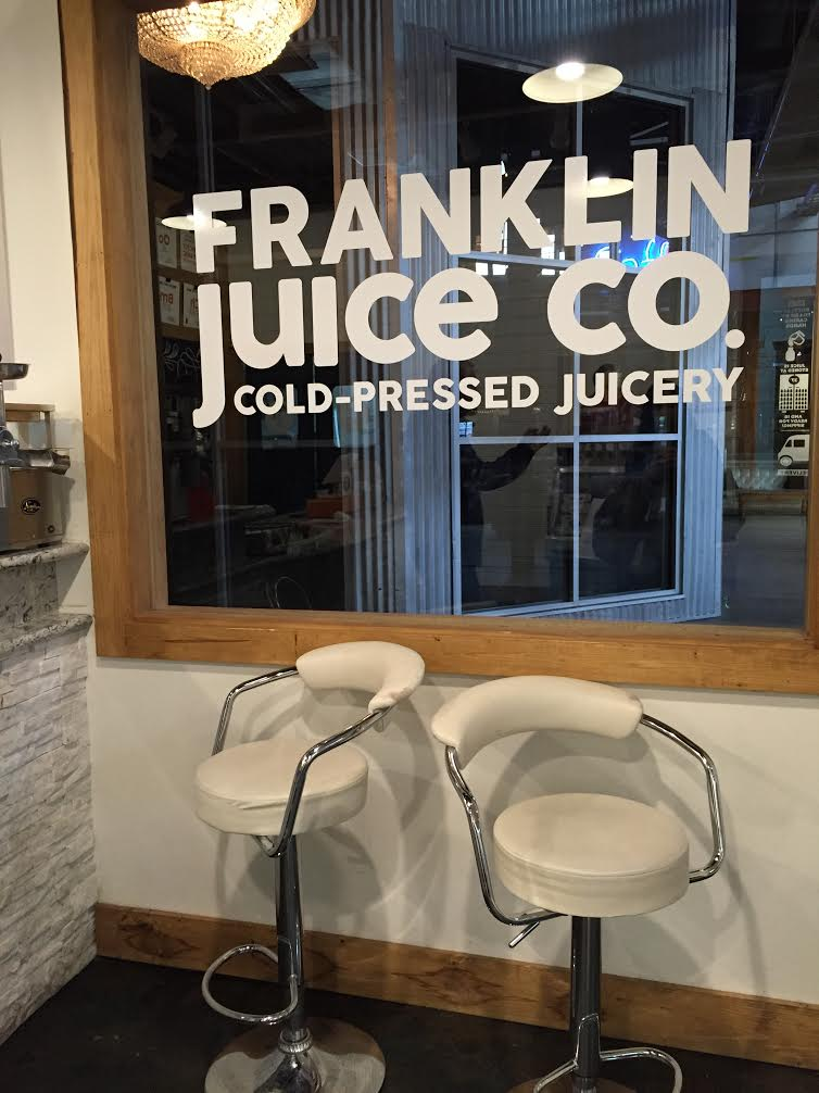 Franklin Juice Company. AMAZING.