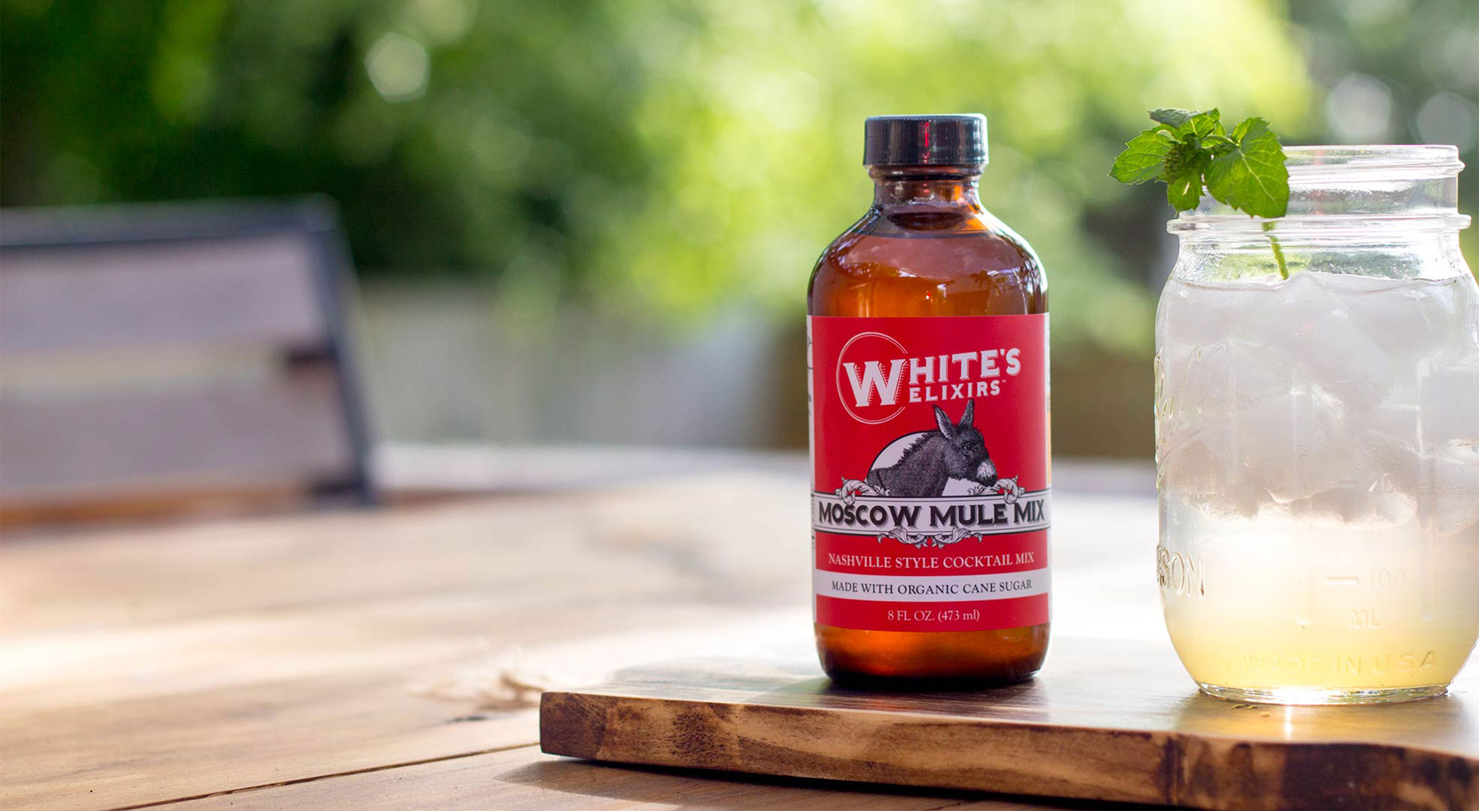 White's Elixirs Moscow Mule mix