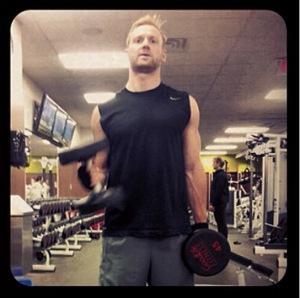 Matt Cronin Working Out