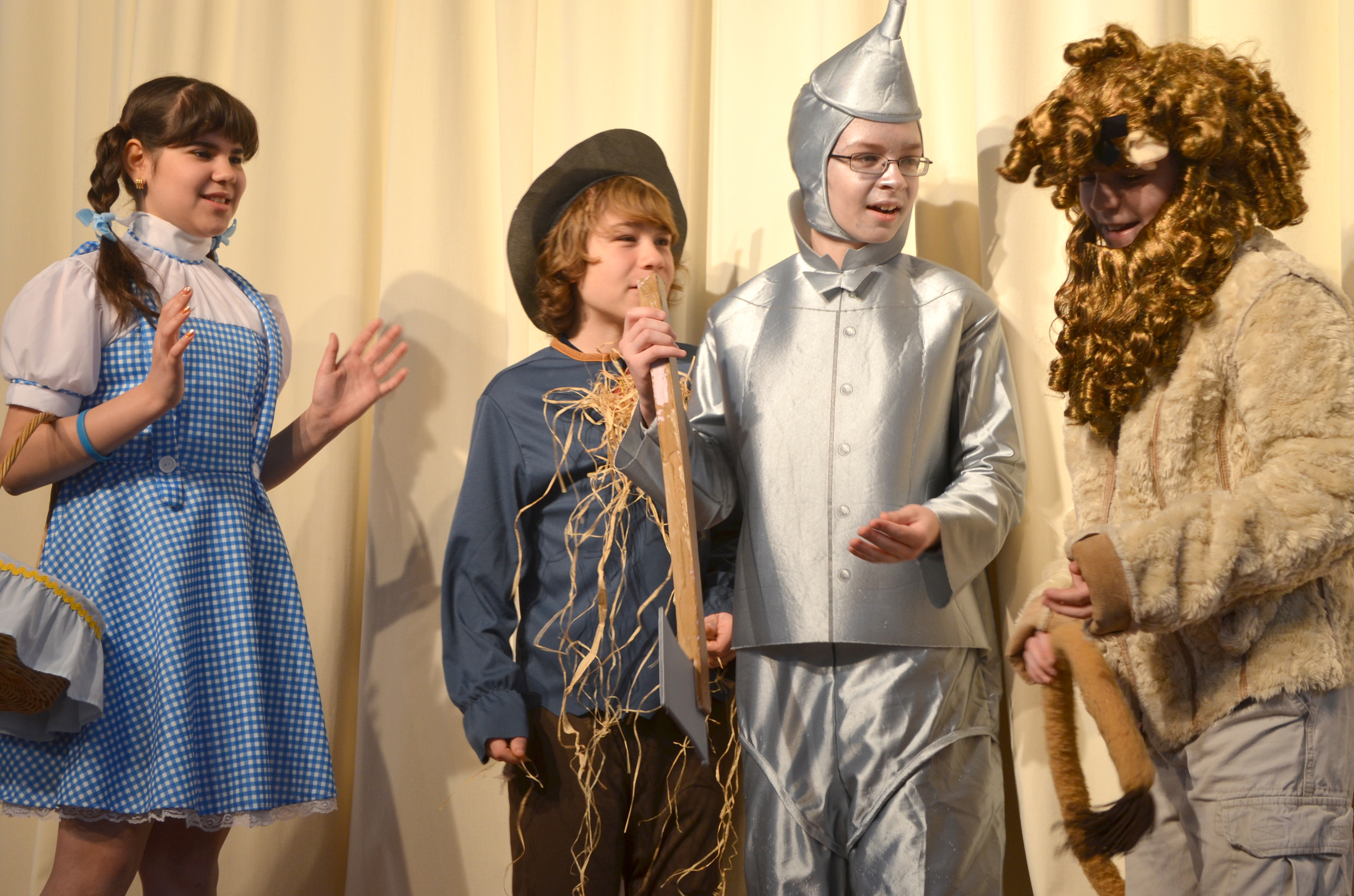 "Another winning production of ""The Wizard of Oz"" led by director Rachel Barton."