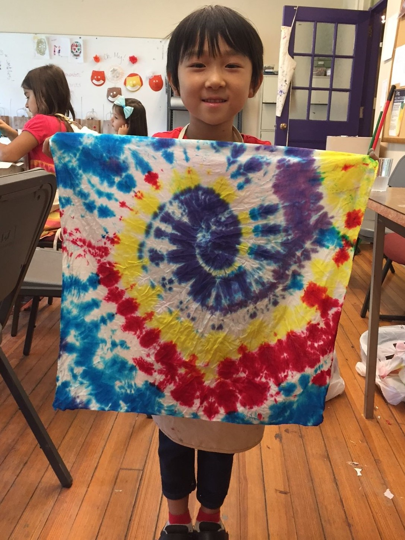 Girl shows tie dye.jpg