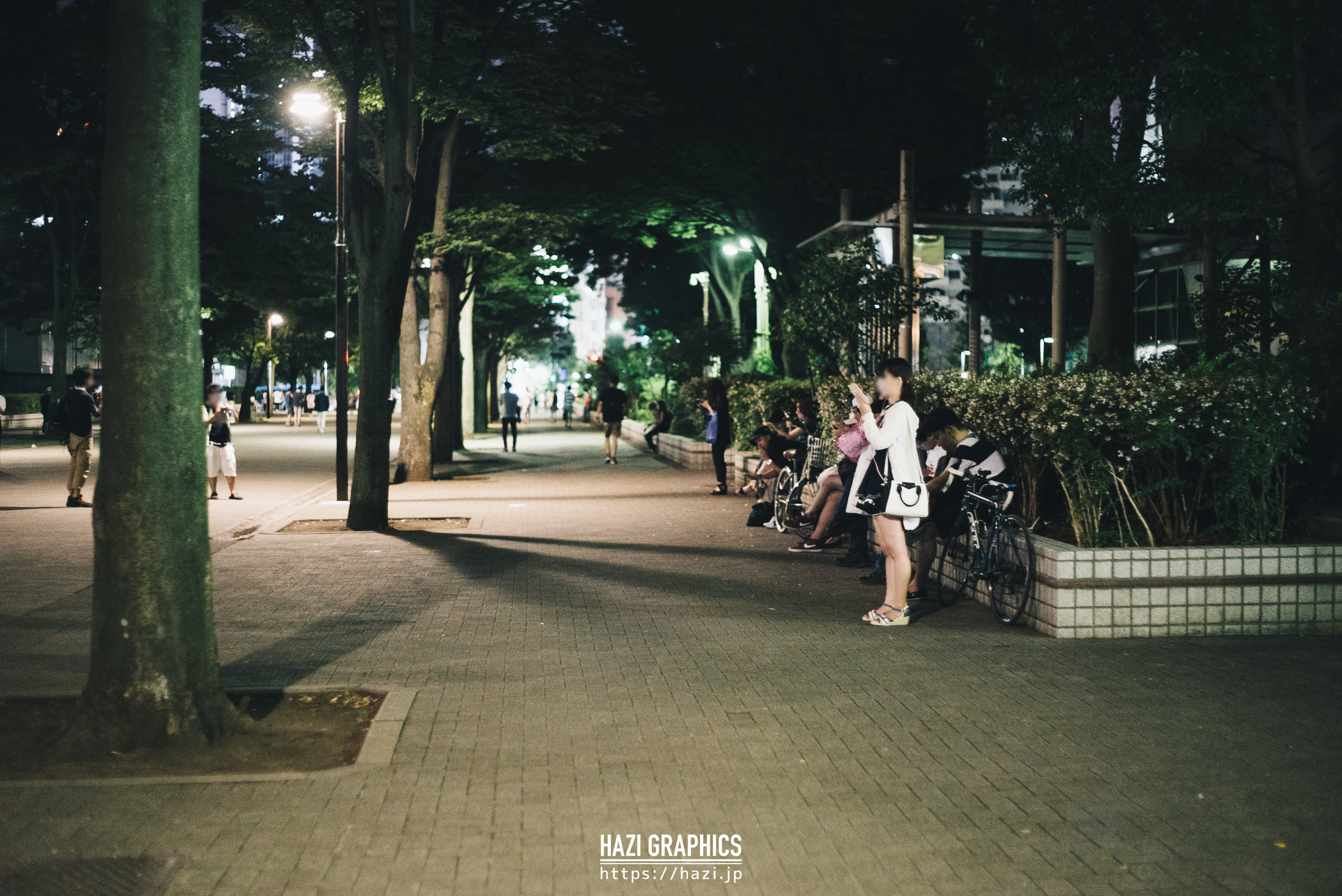 渋谷 NHK 前 20:32