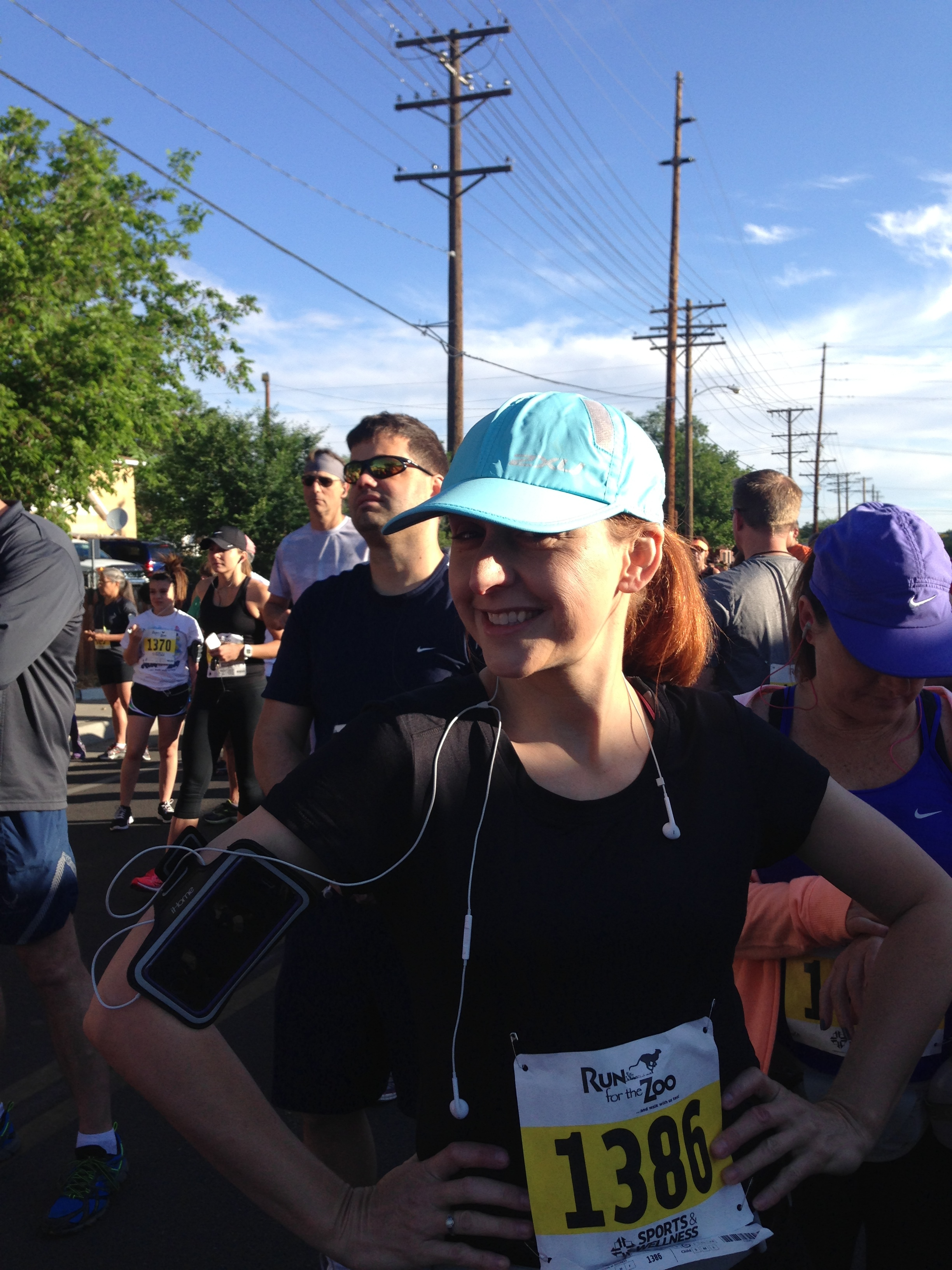 amy parrish at start of r4zoo.JPG