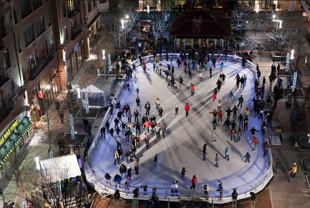 Commercial space along the Square with an ice rink in the middle. We're dreaming big!