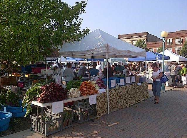 A farmer's market that rivals that of Charlottesville's. What do you think?