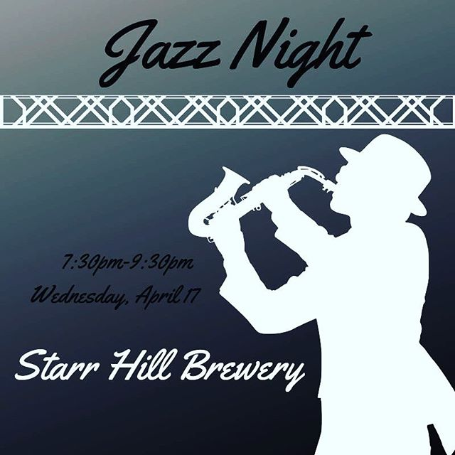 Need something fun to do on this beautiful Wednesday night? Head over to Starr Hill tonight at 7:30 PM to enjoy some Jazz!
